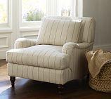 A nice cozy chair.
