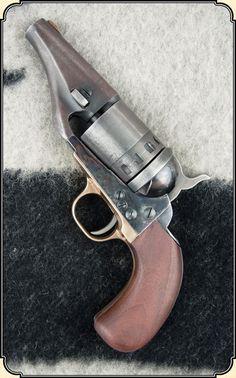 """1860/2 Colt """"Hide-out"""" Revolver converted to cartridge. Colt short barreled Revolver"""