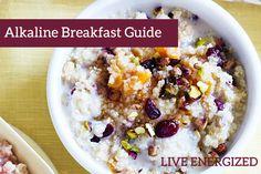 Alkaline Breakfast Recipes (for winter)