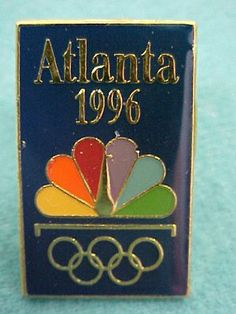 Vintage 1996 Coca-Cola Magic Window Olympic Polar Bear Pin