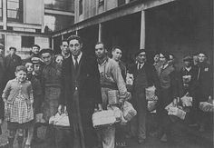 Jewish prisoners arrive at the Drancy transit camp. France, 1942.  — Federation Nationale des Deportes et Internes Resistants et Patriots