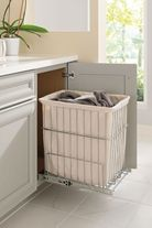 "Lowes Laundry Baskets Diamond At Lowes  Cabinet Interiors  18"" Wide Vanity Hamper"