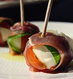 Easy Caprese Bites are an easy and elegant way to serve caprese salad. Make a quick balsamic reduction and it becomes heavenly!