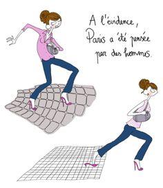 - Paris pensé par des hommes, par Pénélope Bagieu -