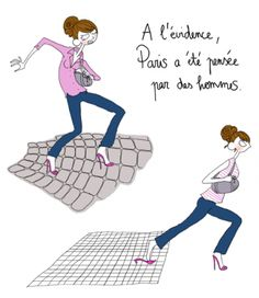 funny french drawer Pénélope Jolicoeur