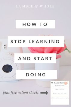 Wondering how to balance learning new things and still take action so that you…