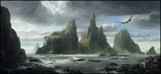 Lost World, Daniel Alekow on ArtStation at https://www.artstation.com/artwork/lost-world-7a42aa5e-b2a0-459b-8b18-d966fcbf9db4