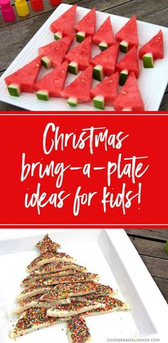 three simple bring-a-plate ideas for kids' Christmas parties!