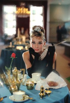 "vintagegal: "" Audrey Hepburn photographed for Breakfast at Tiffany's (1961) dir. Blake Edwards """
