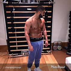 Canadian singer Drake trains only with Technogym. #itrainwithtechnogym #functionaltraining #wellness