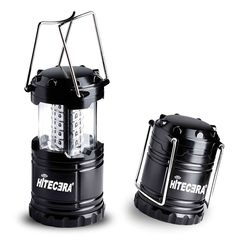 LED Camping Lantern By Hitecera Ultra Bright Camping Light Collapsible Waterproof Energy-saving Battery-powered For Hiking ** Learn more by visiting the image link.
