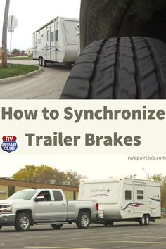 What is the proper setting for the brake controller on a trailer? According to RV maintenance and repair expert Dave Solberg, the answer depends on the weight of your trailer, what's needed to slow down under control and without skidding. You're not trying to bring the trailer to a sudden stop, just slow it down to work in conjunction with tow vehicle's brakes. Rv Trailers, Travel Trailers, Pork Tenderloins, Rv Tips, Rv Hacks, Rat Race, Hot Shots, Happy Campers, Camping Ideas