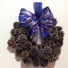 December Holidays, 4th Of July Wreath, Hanukkah, Christmas Wreaths, Seasons, Holiday Decor, Home Decor, Xmas, Christmas Decor