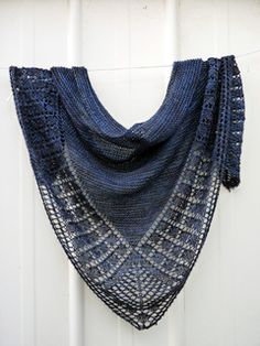 Love love love this pattern! Will definitely make another shawl using this easy to follow pattern.  Although Alivia is a charted design that required row counting (a 12 row repeat), it was so simpl...
