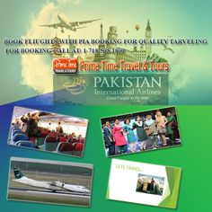Book Flights With PIA Booking For Quality Traveling  If you live in any country of the world that has travel agencies affiliated with Pakistan International Airline or PIA then you can easily visit Pakistan from the flights sent from the company because the ticket reservation can easily be made by the travel agencies that sell PIA tickets.  https://www.primetimetravelnyc.com/airlines/book-flights-with-pia-booking-for-quality-traveling/