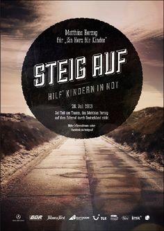 STEIG AUF (Get on) by Caroline Michaelis, via Behance