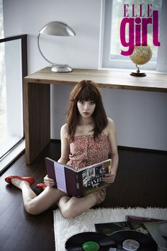 Seo Woo - Elle Girl Magazine Girls Magazine, Ulzzang, Seo, Korean, Board, Inspiration, Fashion, Biblical Inspiration, Moda