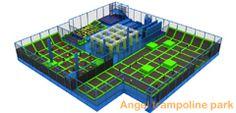 trampoline world, indoor trampoline park - Angel Trampoline Park Trampoline World, Large Trampoline, Indoor Trampoline, Trampoline Park, Big Challenge, Challenges, Angel, Entertaining, Fun