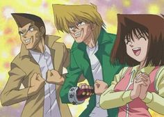 Yu-Gi-Oh! - Jounochi's Face, Honda's Voice and Anzu's (?) Friendship