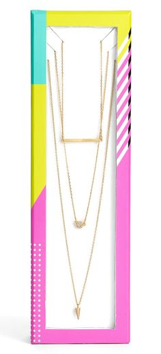 An adorable trio of dainty gold necklaces that provide stand-out style whether layered or worn alone.