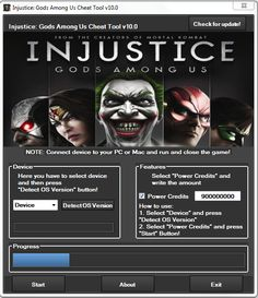 Injustice: God Among Us Hack Tool For Unlimited coins and gold No Survey. World at War hack tool game has been own followers