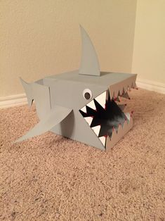 Shark Valentine box!