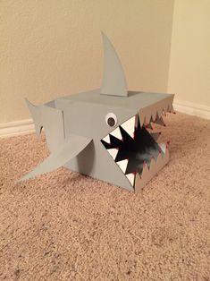 Shark Valentine box!