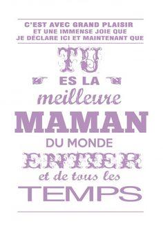 maman,carte fete des mamans,cadeau de fête des mères,carte fête des mères,à imprimer,à encadrer,violet