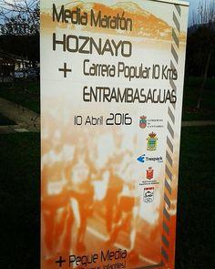Esto va cogiendo color.  #mediamaraton #Hoznayo #abril #rfea  #cantabria #cerca #cabarceno