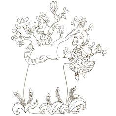 Cahier de coloriage Cap Canaille Rose Autour du monde - 80 pages