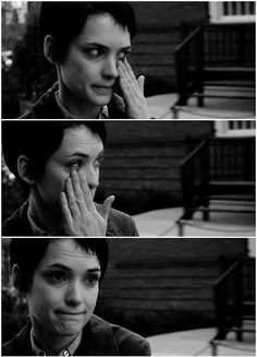 """Girl Interrupted (1999) """" But I know what it's like to want to die. How it hurts to smile. How you try to fit in but you can't. You hurt yourself on the outside to try to kill the thing on the inside."""""""