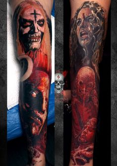 Tattoo-Foto: house of the 1000 corpses