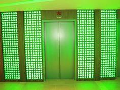 new Heineken NY office, l'esprit bière via We Com'in