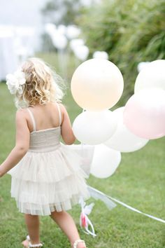 Cute flower girl. Photo by Photo by http://sugarloveweddings.com