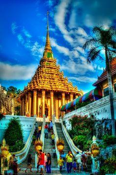 Wat Praputtabat Saraburi in Saraburi province, Thailand