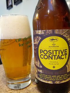 Beer Review: Dogfish Head Positive Contact