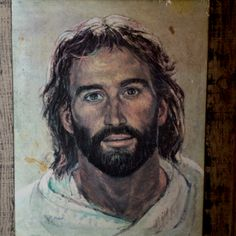 I like this depiction of Jesus--HIS approachability shines through in this painting.
