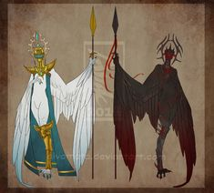 Chess Harpies: King [0/2 Closed] by Aivomata