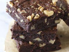 Walnuss Fudge Brownies