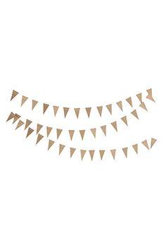 LYS VINTAGE | Girlande Triangle gold | Shop