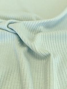 Light Weight Modal Rib Knit - Barely Mint – Sitka Fabrics