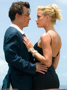 Sparks fly: The couple became romantically entangled on the set of The Rum Diary in 2011 #unique21