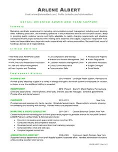 functional resume format see more arlene albert email arlenearlenealbertcom profile linkedincom