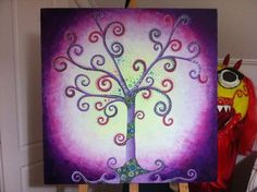 Oil trees Trees, Paintings, Oil, Canvas, Drawings, Tela, Paint, Tree Structure, Painting Art