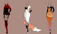 Fashion Adoptables Auction 16 - CLOSED by Karijn-s-Basement.deviantart.com on @DeviantArt