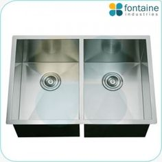 We have different types of kitchen sinks with best space management. Double Square sink also available in various range. Visit once on  http://fontaineind.com.au/product-category/kitchen/sinks/.
