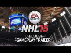 Check out the NHL 15 - Official Gameplay Trailer. Be prepared.