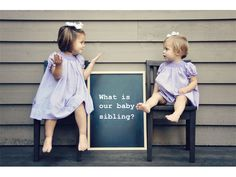 So So cute gender reveal by siblings   via For this child I prayed