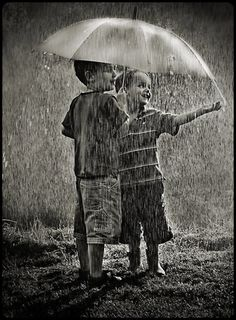enjoying the rain…