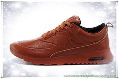 new arrival 206f3 1af69 melhores sapatilhas running Nike Air Max Thea Print Laranja  Vermelho/Laranja 616723-060 New